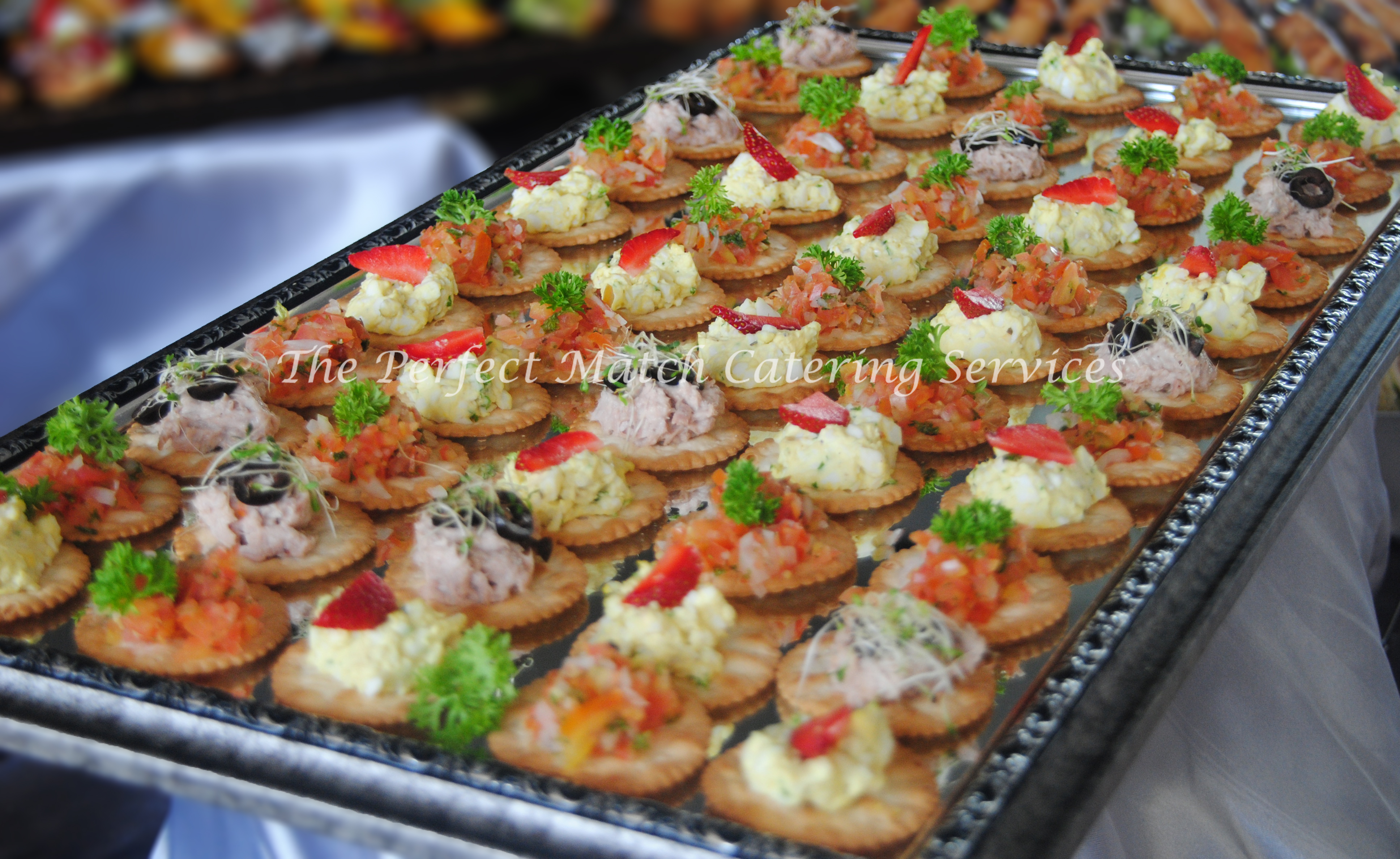 Finger food buffet in kl the perfect match catering services for Canape buffle